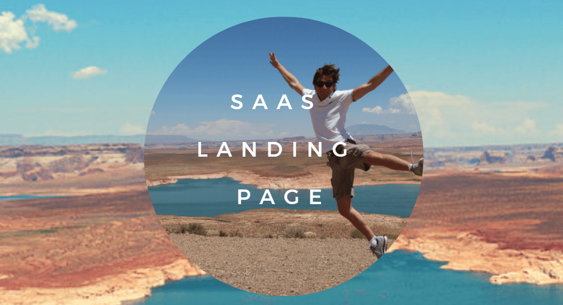 Featured image landing page