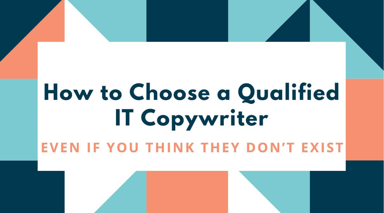 Featured image how to choose IT copywriter