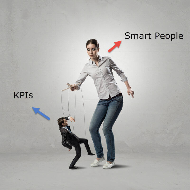 Manipulation of marketing KPIs