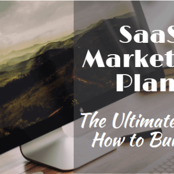featured Image SaaS Marketing Plan