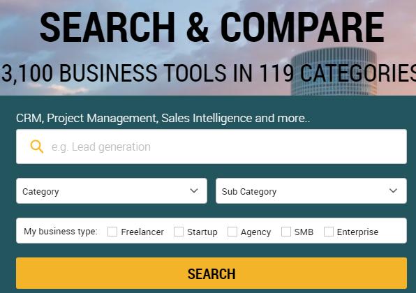 Discover Cloud - business software review platform.