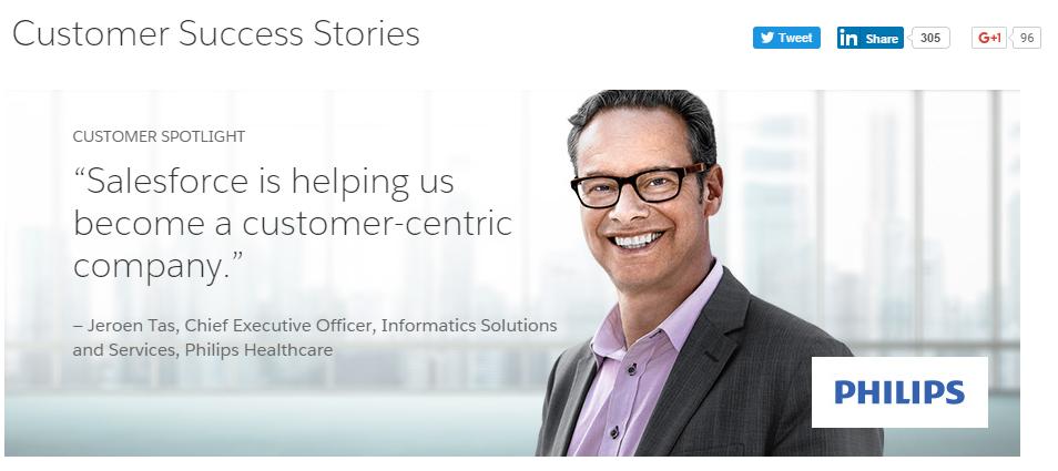 Salesforce's case study