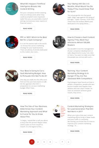 Our blog posts